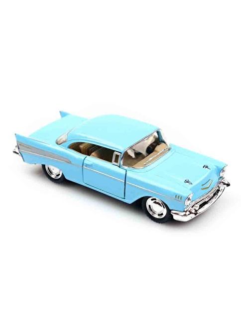 Kinsmart  1957 Chevrolet Bel Air  1/40   Mavi
